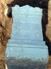Excavaciones en una villa romana del siglo I d.c.